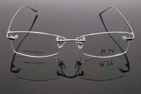 Pure Titanium Eyewear Optical Frame Reading Fashion Glasses Men Prescription Myopia Computer Eyeglasses free shipping 1059