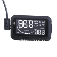 Universal ActiSafety Multi Car HUD Vehicle-mounted Head Up Display System OBD II Fuel Consumption Overspeed Warning