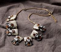 2014 Fashion fashion Shorouk  accessories personalized vintage gem women's sweater Statement necklace