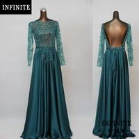 2014 long sleeve backless open back evening dress for sale elie saab