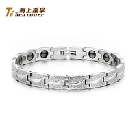 Rover anti radiation anti fatigue therapy titanium magnetic energy health care bracelet