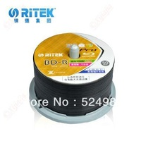 HOT-2013 NEW ,Ritek BD-R Professional series Blu-ray disc,inkjet printable,1-12x,25GB,130min,10pieces/lot,Free shipping