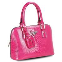 FREE SHIPPING! 2013 fashion high-shine snake grain women leather handbag hotsale shoulder bag women messenger bag handbag