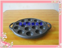 Cast iron pot old fashioned thickening cake mould coating small octopus balls iron general