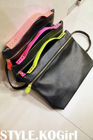 Free shipping 2014  leather messenger bag vintage small shoulder bag cowhide women's handbag H2537