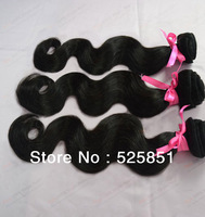 cheaper 3pcs/Lot unprocessed brazilian indian virgin hair body wave grade hair Queen hair products hair extensions machine weft