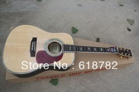 Free shipping HOT wholesale new style  D-45S  Acoustic Guitar with Fisherman pick-up NO case