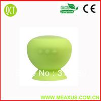 100 pcs a lot Bluetooth Mushroom Mini Speaker Wireless Hands free Waterproof Silicone Suction Wireless Speaker