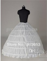 2014 New Arrival Bridal Accessories Petticoat Crinoline 6-hoops Suitable for Ball Gown Wedding Gowns Wedding Dresses Hot sale