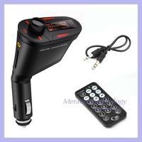 Bluetooth Car Kit FM Transmitter MP3 Player Steering Wheel USB SD MMC Card