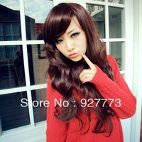 Auburn FREE SHIPPING Long Wavy Wigs Party Cosplay Fancy Lace Hair Wig
