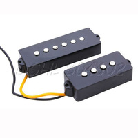 5 String Noiseless Pickups Set For Electric Precision P Bass