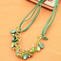 Min order is 10usd ( mix items ) Fashion Romantic Bosnian beads Choker necklace for women 2013 ---cRYSTAL sHOP