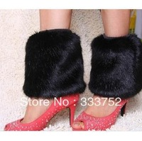 free shipping winter Women faux fur leg warmers gaiters Girl legging warmers Lower Ankle Shoes Boot Sleeves Cover 70