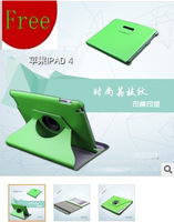 Microfiber embossed leather protective holster Tablet PC Leather Sleeve for Apple ipad234