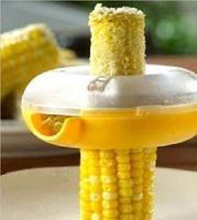 Fresh Corn Stripper Sweet Corn Threshing Device for Kitchen Round Novelty