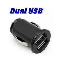 5V-2.1A 2-Port Dual USB Car Charger for apple samsung htc and any other phone