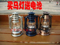 Classic vintage battery lantern reminisced 12 led lighting kerosene lamp tent light series dimming