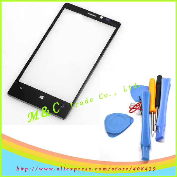 100% Guarantee Original Outer touch Screen Glass Lens for Nokia Lumia 920 +free tools Free Shipping(China (Mainland))