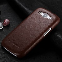 Luxury Genuine Leather Back Case for Samsung Galaxy S3 III i9300 Protective Lychee Pattern Skin Cover