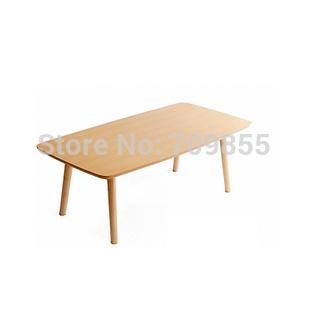 Free shipping living room furniture coffee table folding modern wood