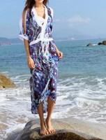 Женская туника для пляжа vestidos T81