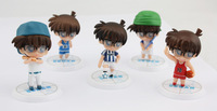 Hot Detective Conan 6cm Mini Figure Set of 5pcs
