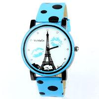 reloj de piel Tower Candy Watch Wrist Leather Clock Women Fashion Rhinestone Wholesale Dropship Free Shipping PU