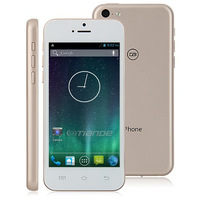 4 inch  Xiaocai X800 smartphone Android 4.2 MTK6572 Dual Core 1.3GHz 8.0MP Camera Rom 4GB One nano sim cards-White-Gold