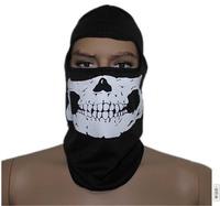Hot White Skull Balaclava Hood Full Warm Neck Face Cycling Ski Windproof Protector Mask Free shipping retail