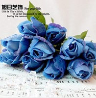 Kingart 1PCS Free shipping Home decoration artificial flowers dried flowers silk flower artificial rose