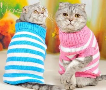 Кошка одежда зимней одежды кошки Бесплатная доставка все соответствует толщиной кошка свитер одежды любимчика пары установлен для кошек