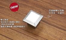 Modern kitchen cabinet knobs and handles dresser cupboard door knob pulls Bright Chrome(China (Mainland))