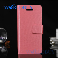 High Quality Wire Drawing Leather Flip Card Slot Wallet Stand Case Cover For iPhone 5C For iPhone 5C Free Shipping DHL HKPAM O-5