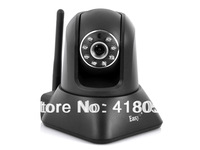 Two Way Audio 0.3MP 1/4 Inch CMOS Pan/Tilt Plug And Play IP Security Camera