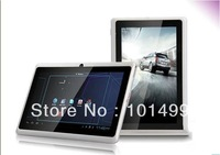 cheapest 7 inch Android 4.2 Allwinner A13 512M 4GB dual camera tablet with wifi