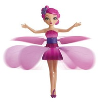 New Flying fairy  flitter fairies flutterbye electronic toy hot sale toys fairy fly pink