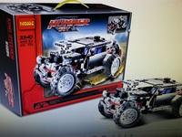 Decool Building Blocks Hummer HUV No.3340 Sets 470 pcs  Educational Jigsaw DIY Bricks Toys for Children Gift for Kids