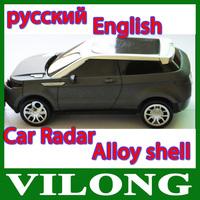 360 Degree V3 Detection Voice Alert Car Radar Laser Detector Support Russia / English Voice for Car Speed Support X K KU KA