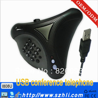 noise cancelling and echo eliminate USB telephone for business meeting and communication chat