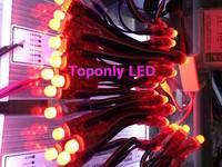 DC5v 12MM RGB led string light for advertisement,color changing led String lights+IR rgb controller+transformer,free shipping!