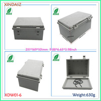 Waterproof electrical boxes hinged plastic box electronics china eletronic enclosure 251*169*101mm  9.88*6.65*3.98inch