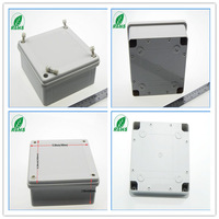 Plastic boxes with hinges enclosure case for equipment plastic enclosure for electronic 160*160*60mm 6.30*6.30*2.36inch