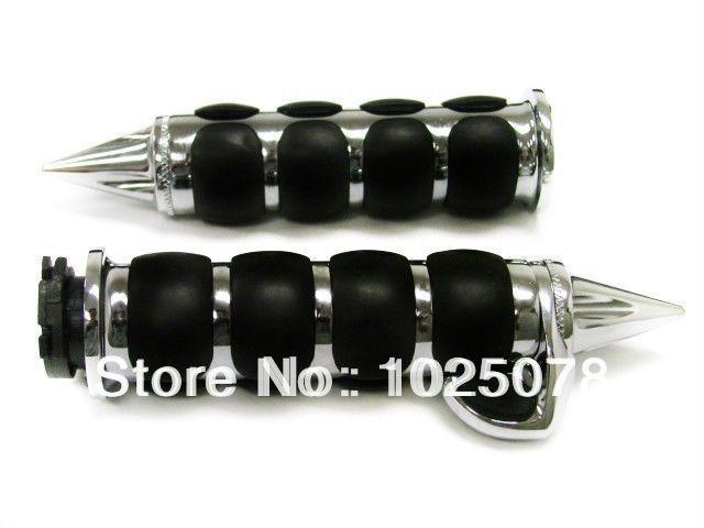 """free shipping 1""""25 mm Grips Handlebar Hand For Harley Softail Dyna Electra Glide Honda Yamaha Kawasaki Suzuki Vulcan Shadow(China (Mainland))"""