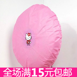6105 cartoon pink kt dust cover non-woven circle elastic strap electric fan dust cover(China (Mainland))