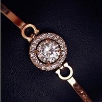 minecraft wristband luxury dubai gold jewelry 3.5 carat Swiss CZ Hearts & Arrows perfect cut charm 18K gold -plated Bracelet