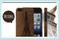 Hot item Stripe Wooden cover case for iPhone 5S/5,Bamboo wooden for iphone 5S/5 cases,for iphone 5S/5 case new arrival