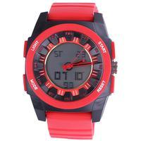Dropship unique design silicone digital watch sports multi-function alarm hours 3ATM sunflower analog compass head for men women