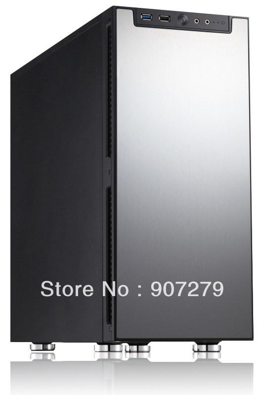 Mini ITX JONSBO QT01 PC Case---Sliver(China (Mainland))