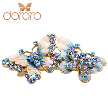 Cloisonne hairpin bow hair accessory hair accessory the wedding hair pin marriage accessories spring clip